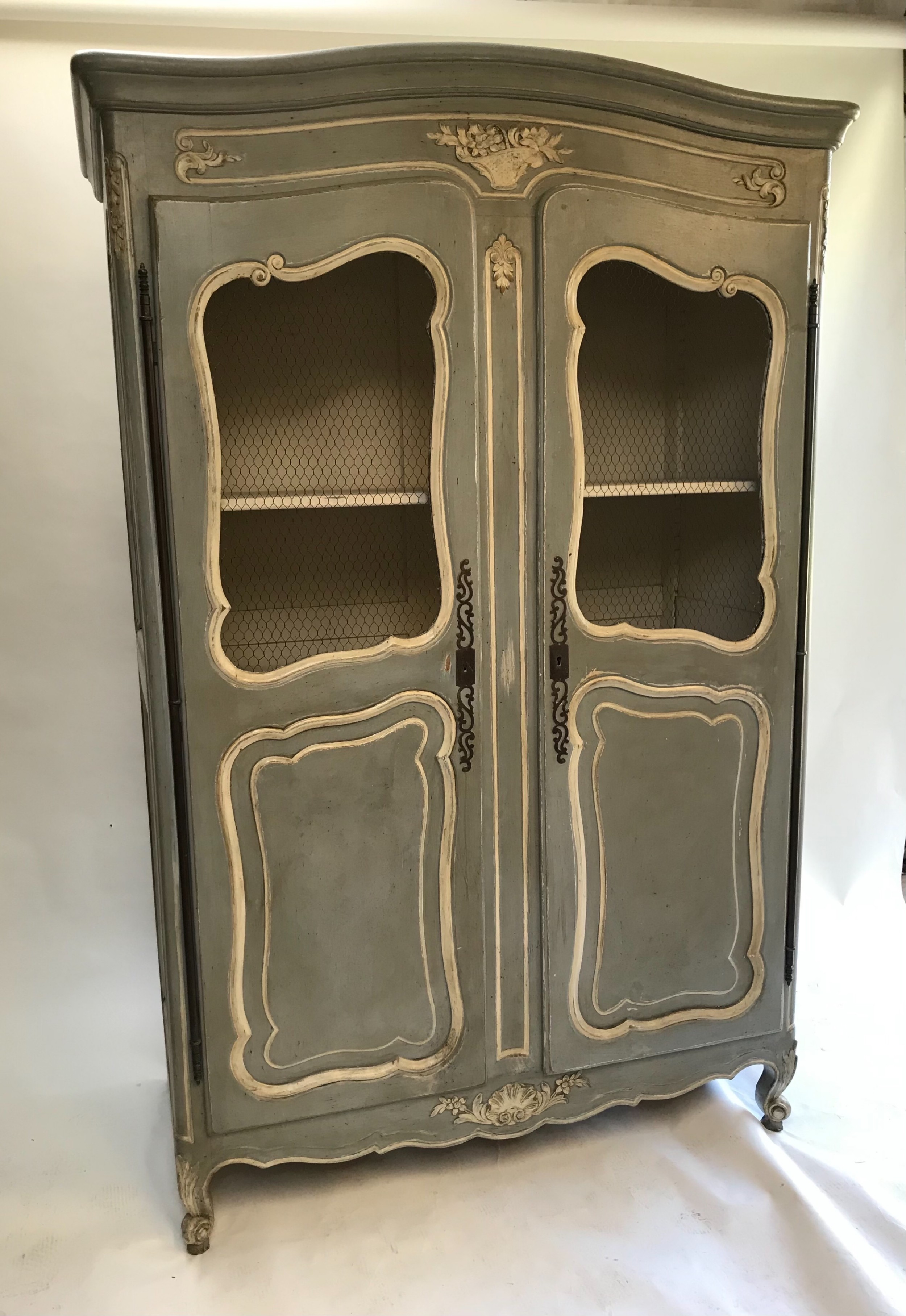 stunning french provencal armoire