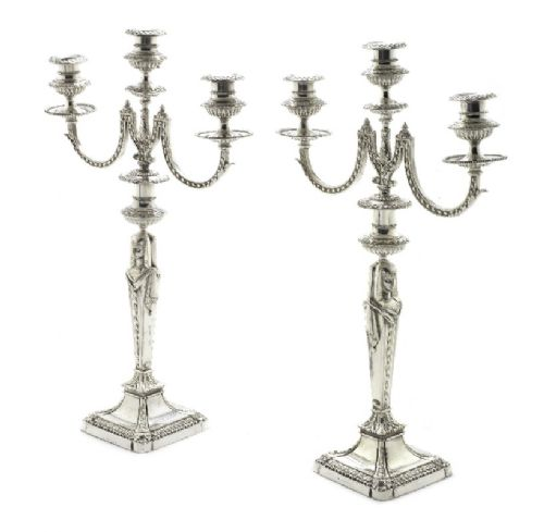candelabracandlesticks elkington co silver plated 19th century