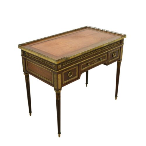 french empire style mahogany ladies writing table