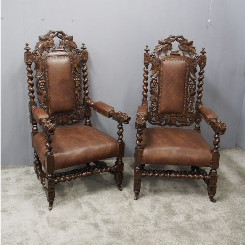 Antique Jacobean Chairs The Uk S Largest Antiques Website