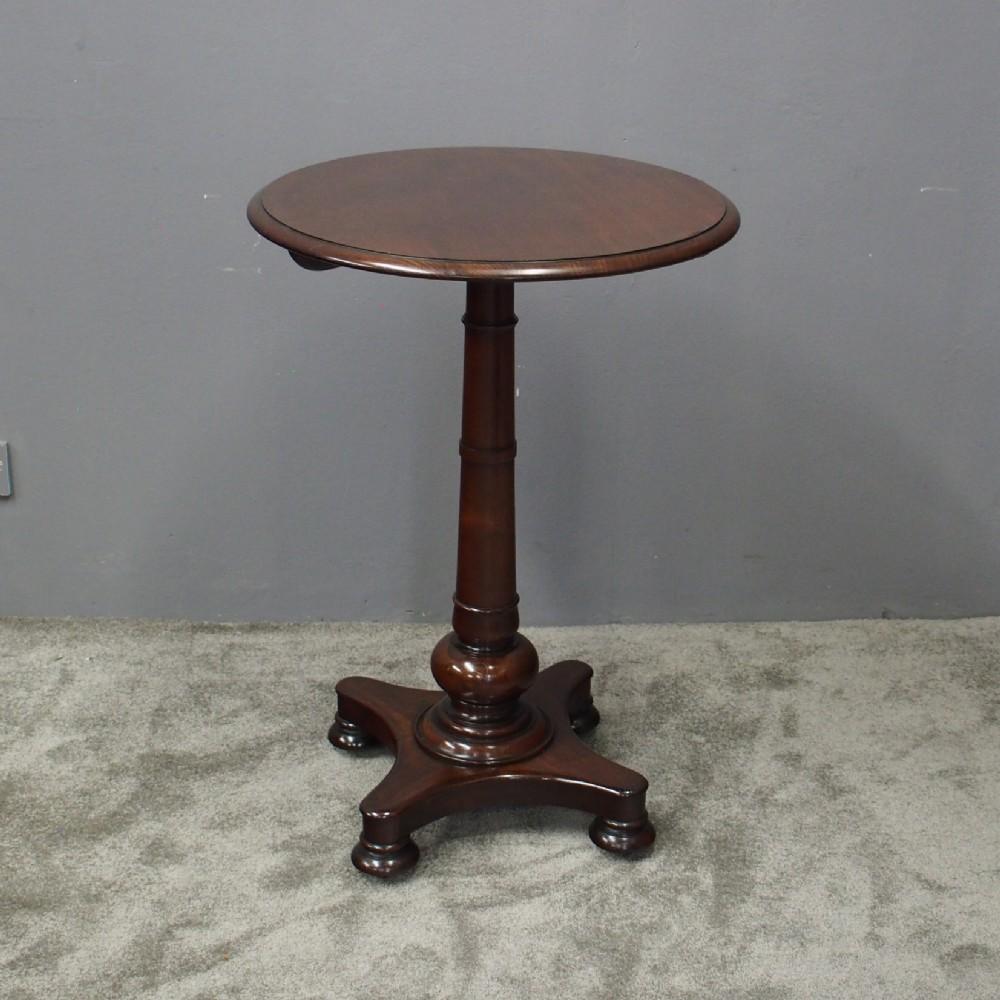 william iv mahogany occasional table