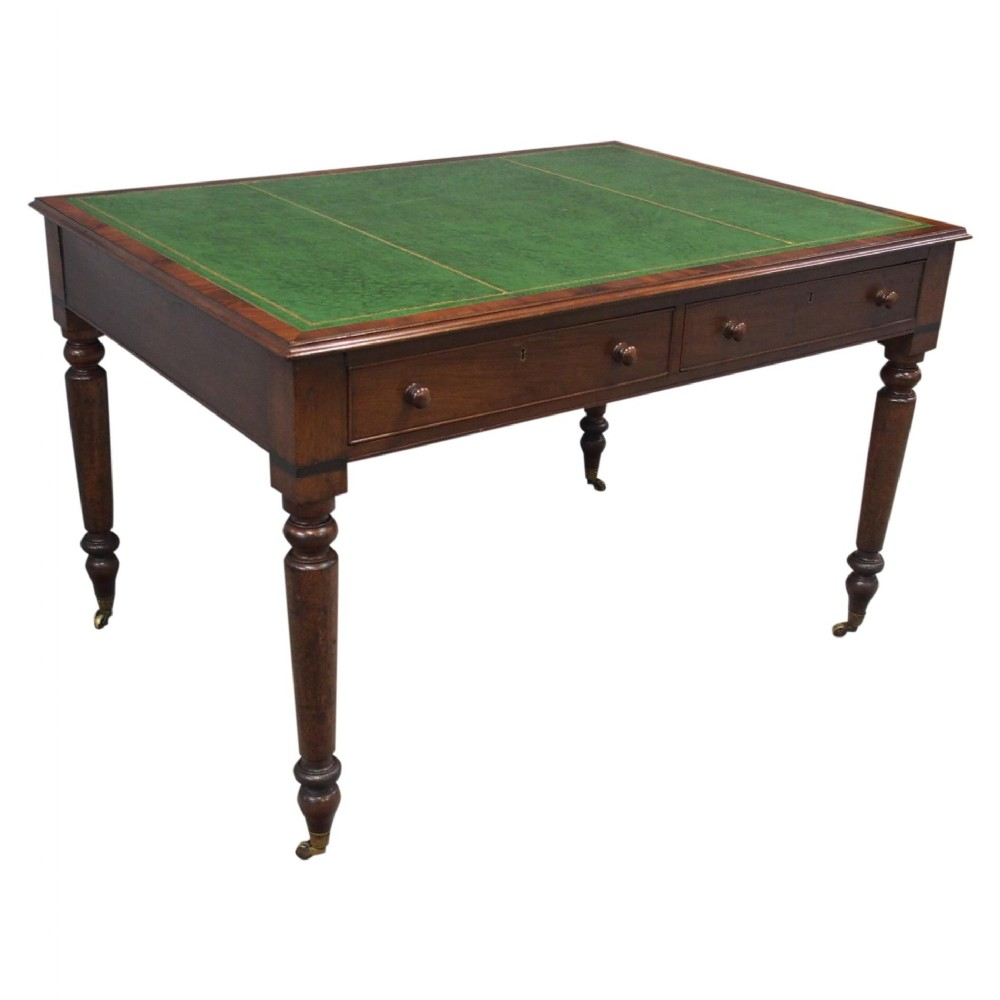 william iv mahogany partners writing table