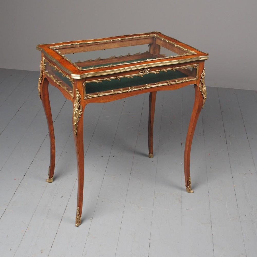 antique victorian rosewood bijouterie table