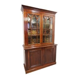 Georgian Antiques · GOTHIC STYLE CARVED OAK CABINET ...
