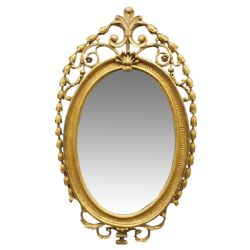 Chippendale Style Gilt Overmantel Mirror 325433