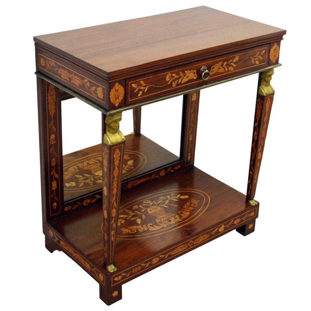 dutch mahogany hall table pier table 333448