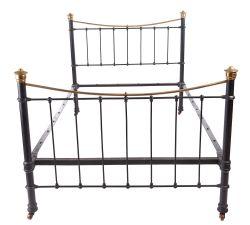 antique iron beds