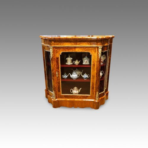 victorian walnut sidecabinet