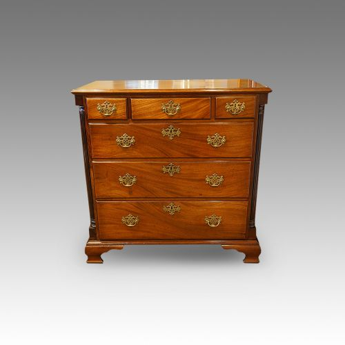 george iii mahogany north country chest