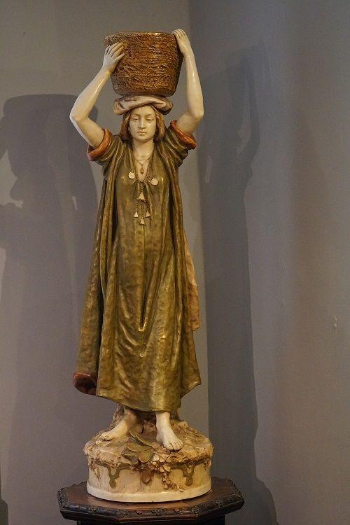 large royal dux figure by alois hempel
