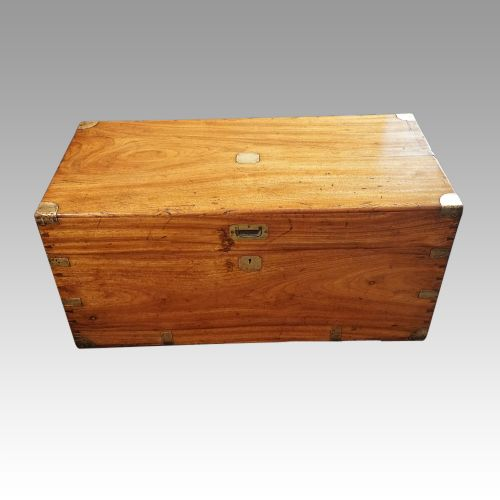 victorian officers camphorwood chest