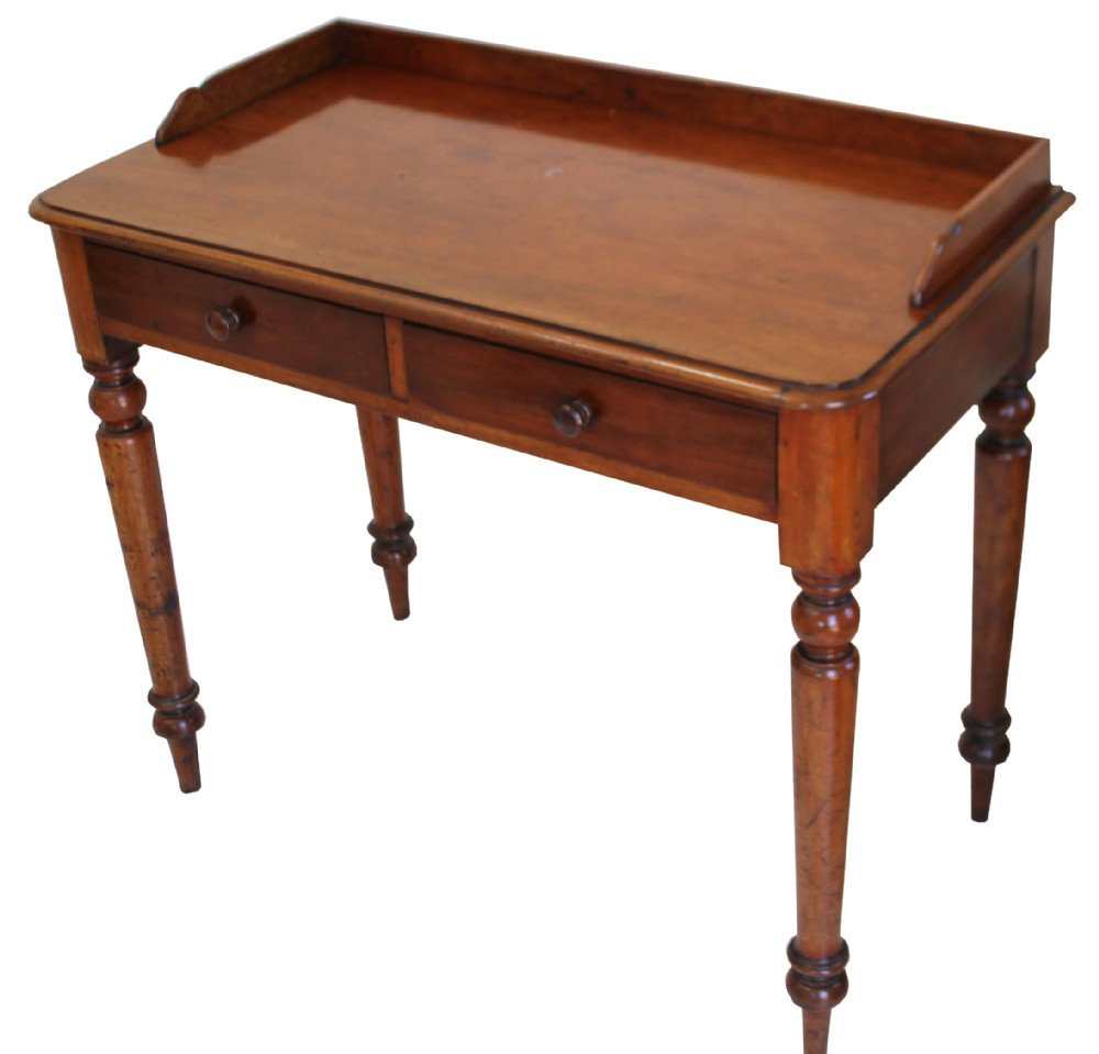 a good quality victorian mahogany hall table