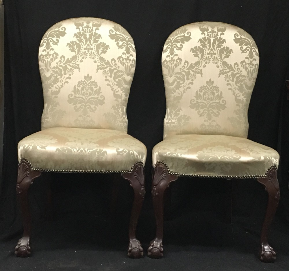 c19th pair of side chairs in the george 11 taste