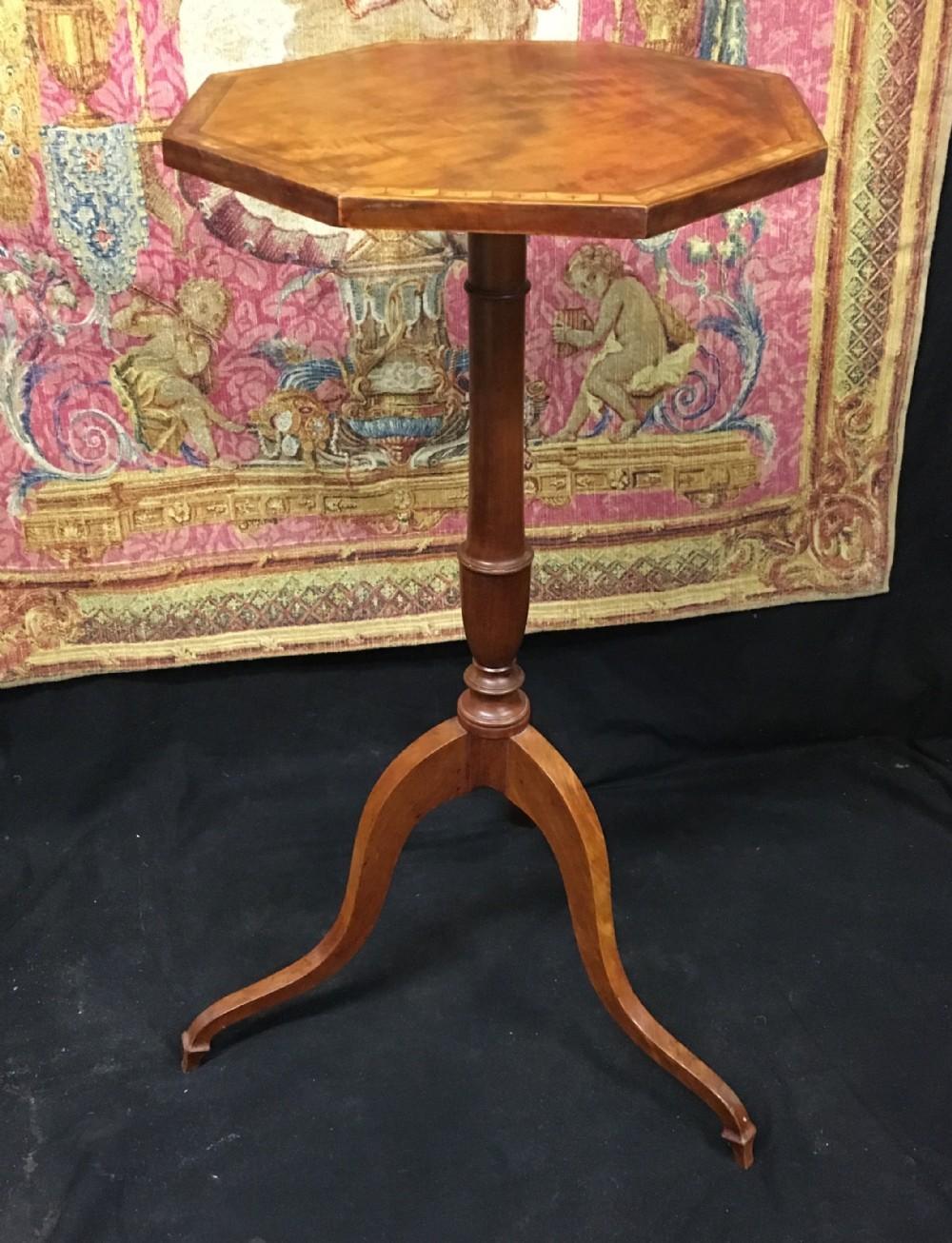 c18th satinwood wine table