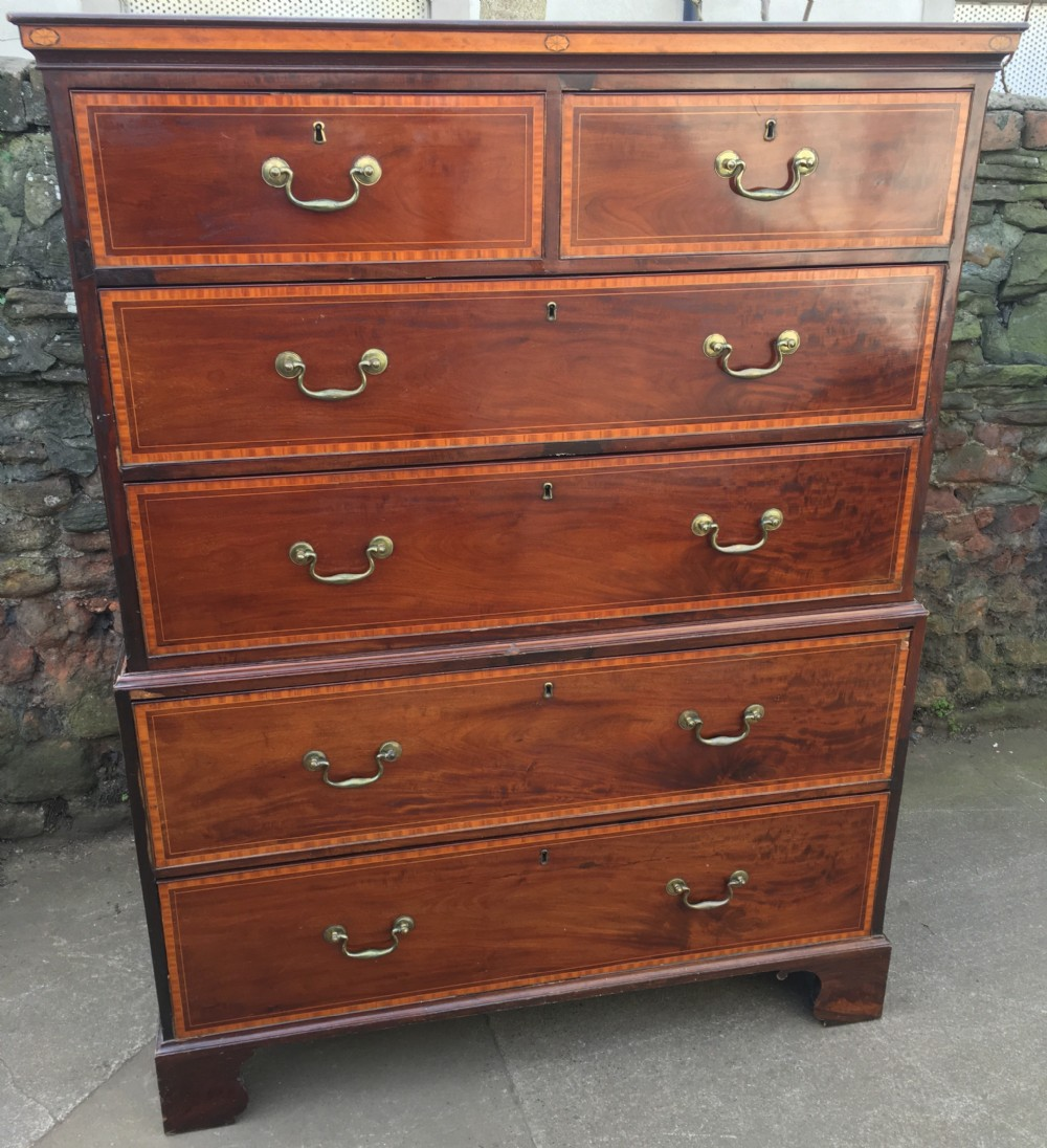 georgian tallboy or chest on chest