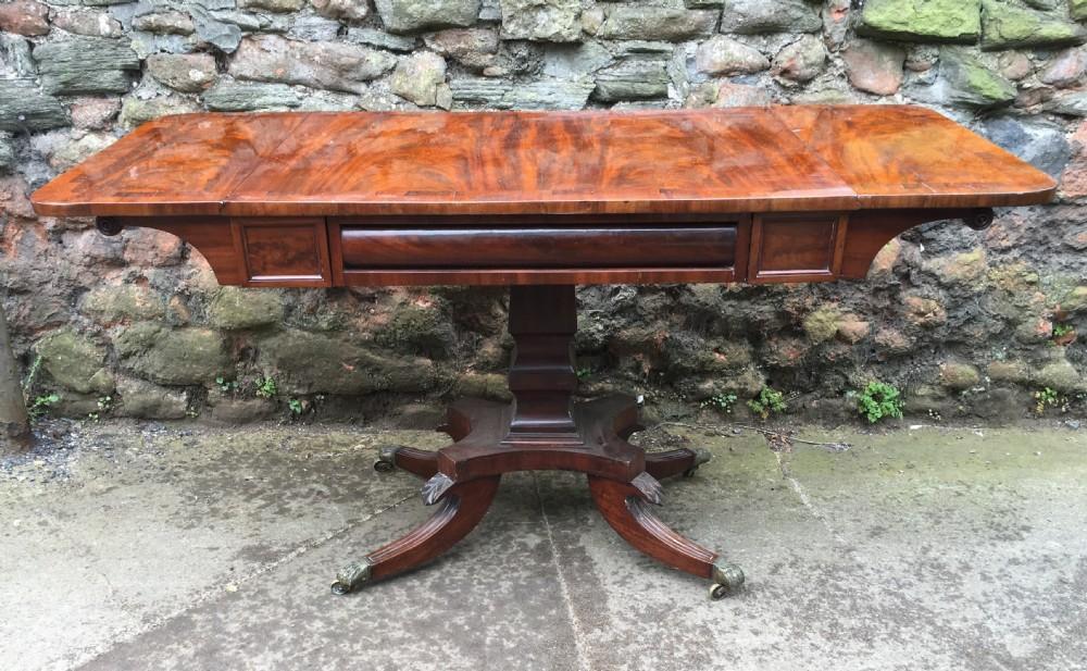 c19th georgian sofa table