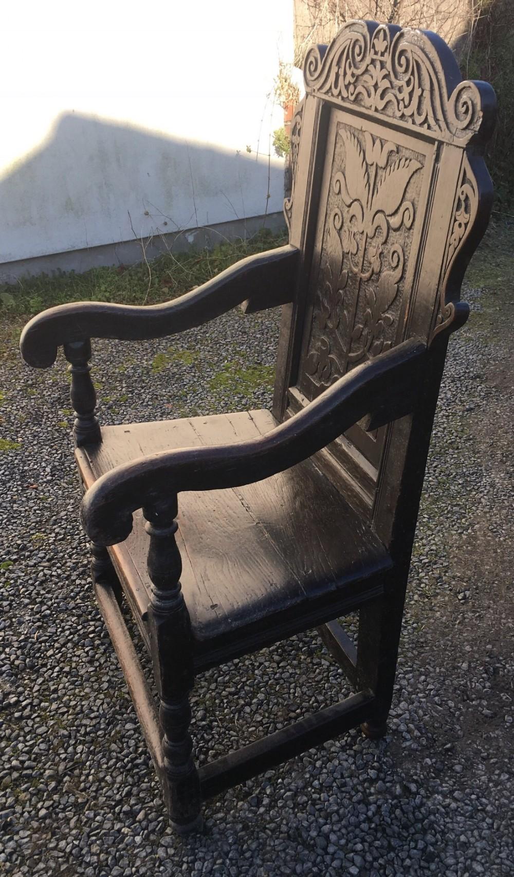 c17th wainscot chair