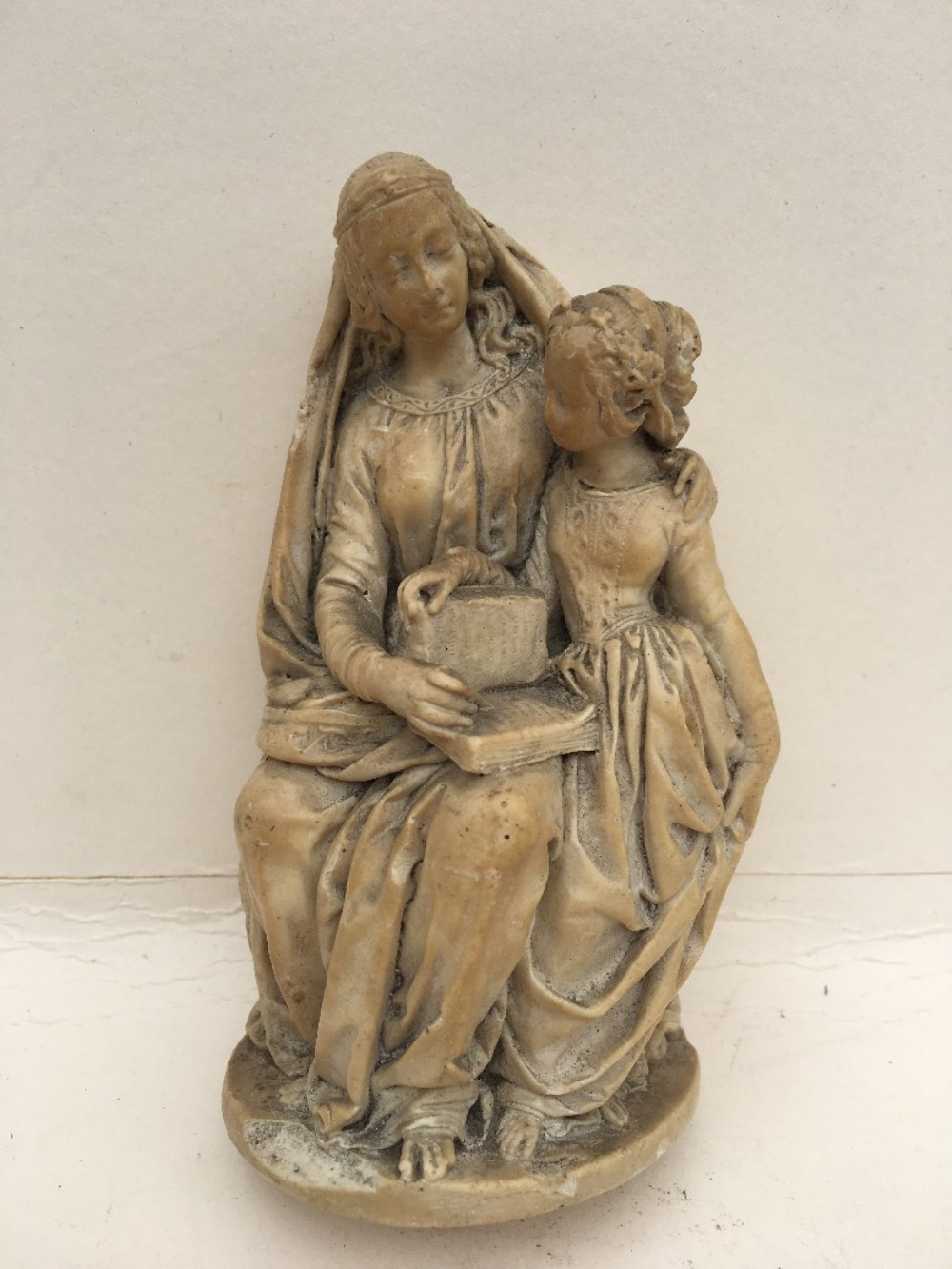 early cast of a medieval carving