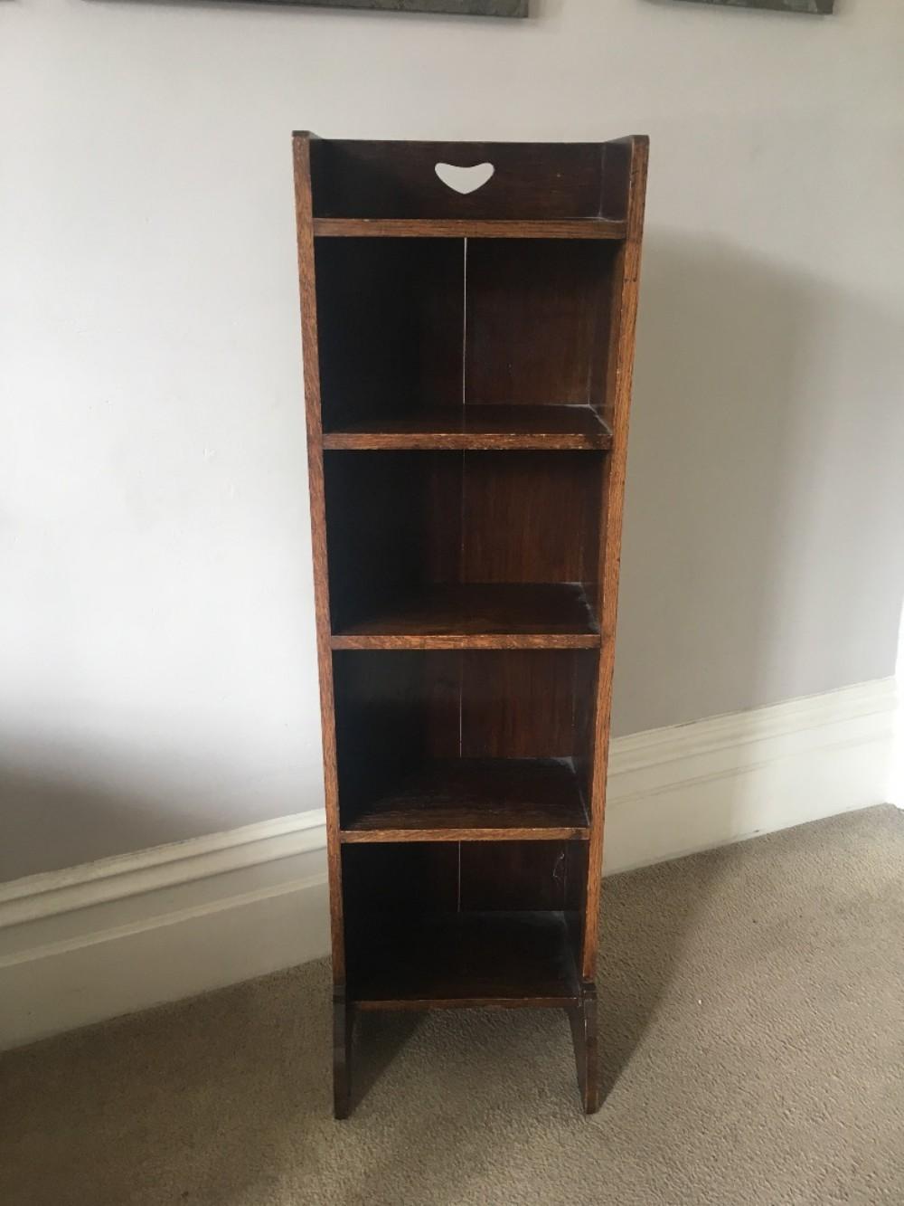liberty's of london oak bookcase