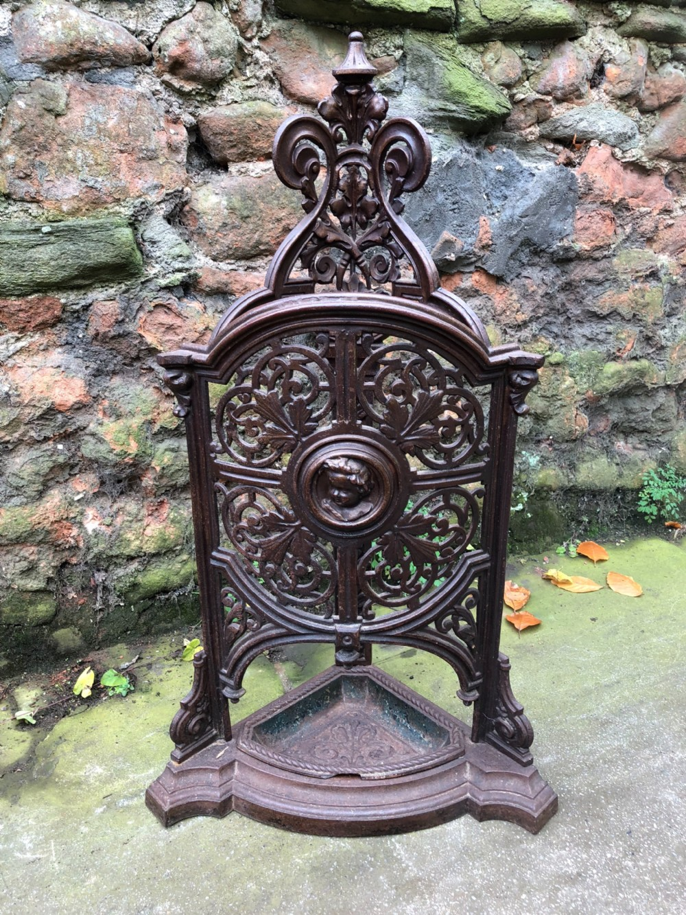 c19th corner umbrella stick stand