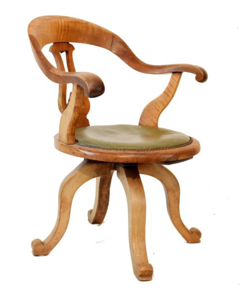 c19th desk chair