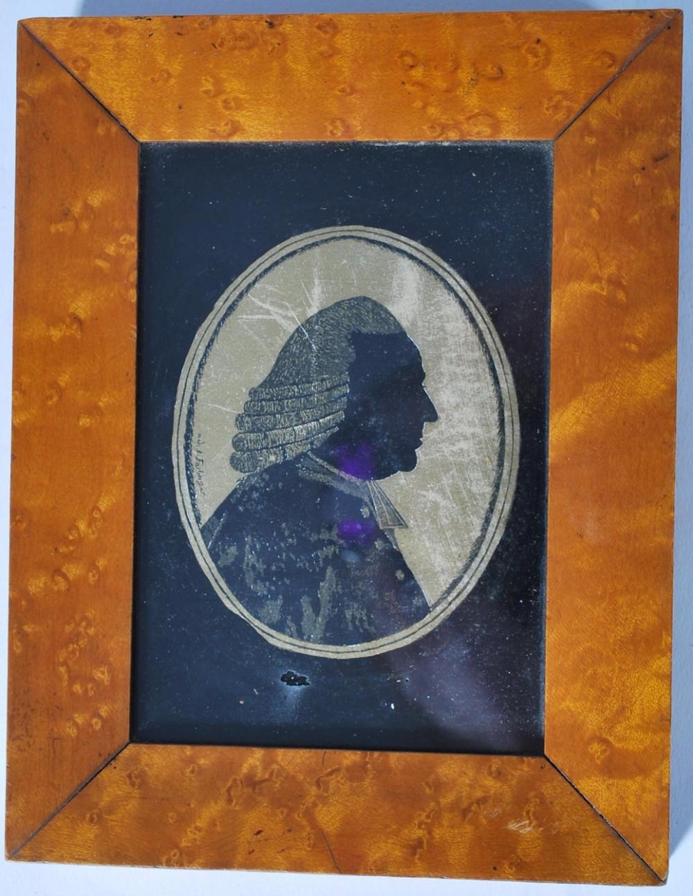 georgian portrait miniature of the earl of mansfield