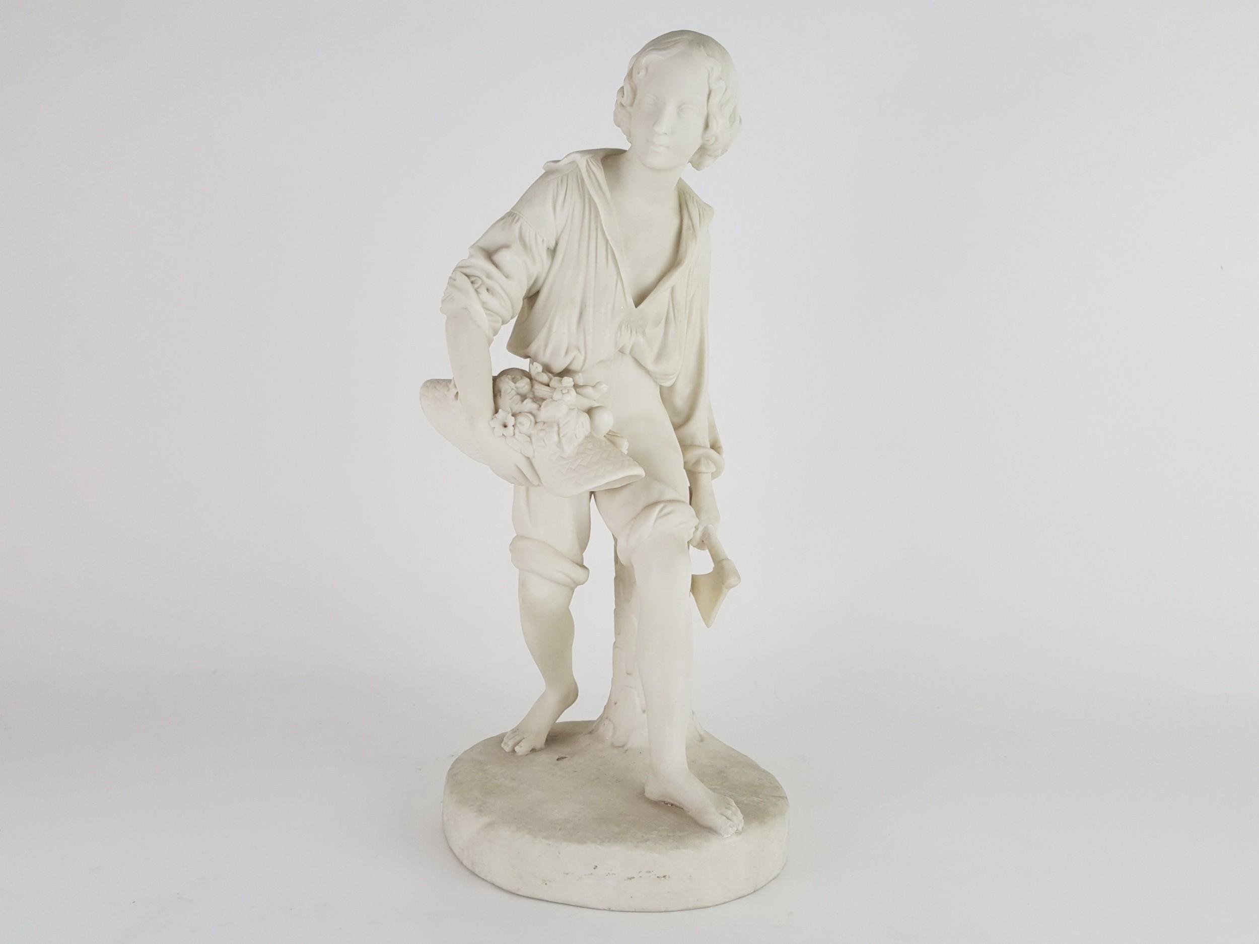 19th century european bisque figure