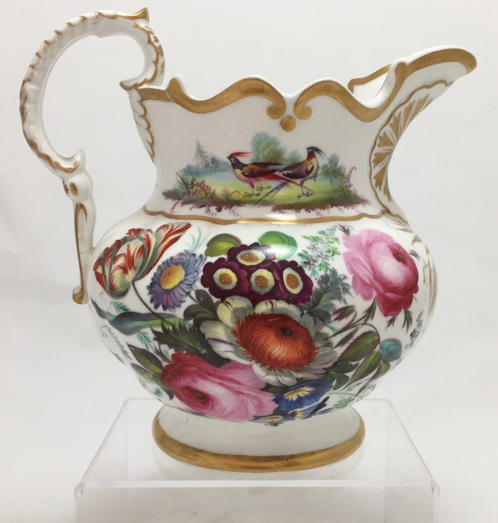 early victorian porcelain jug