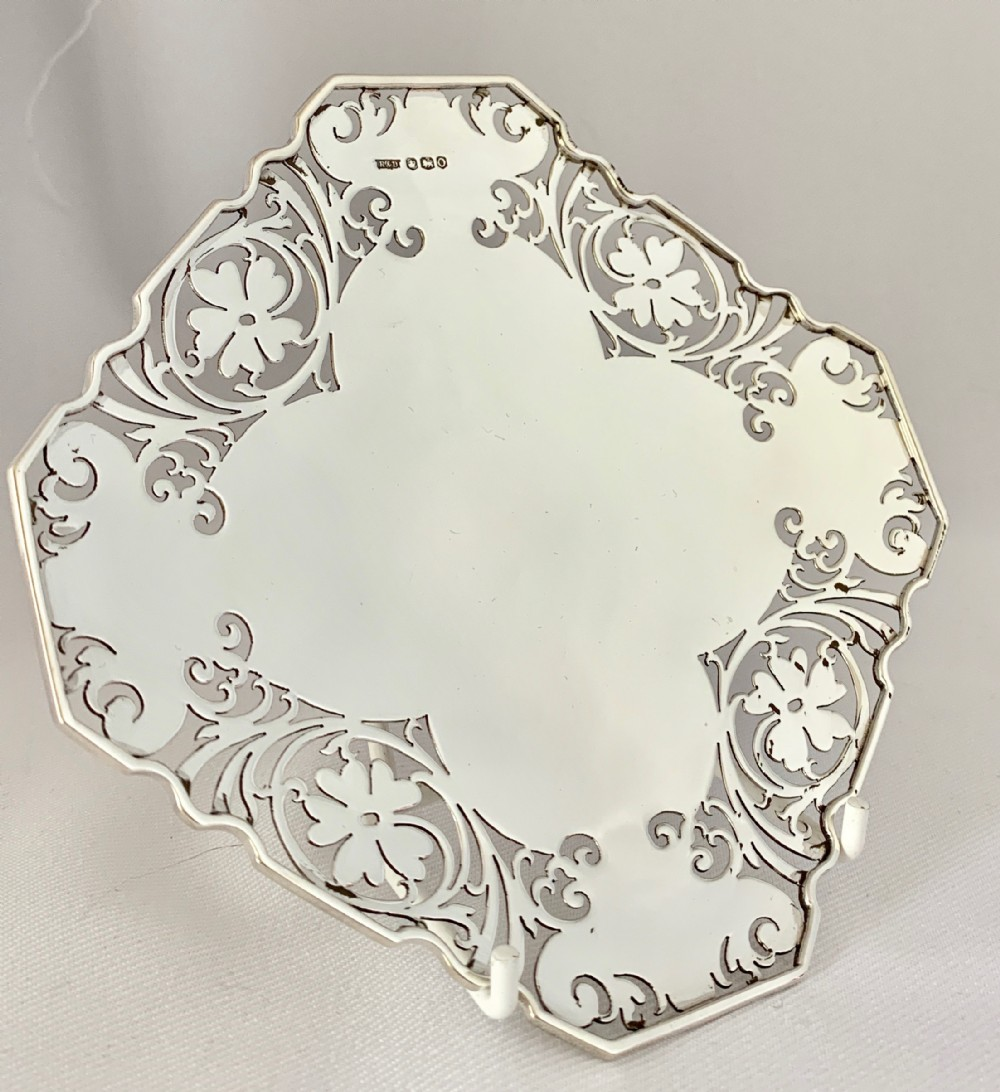 pretty sterling silver dish