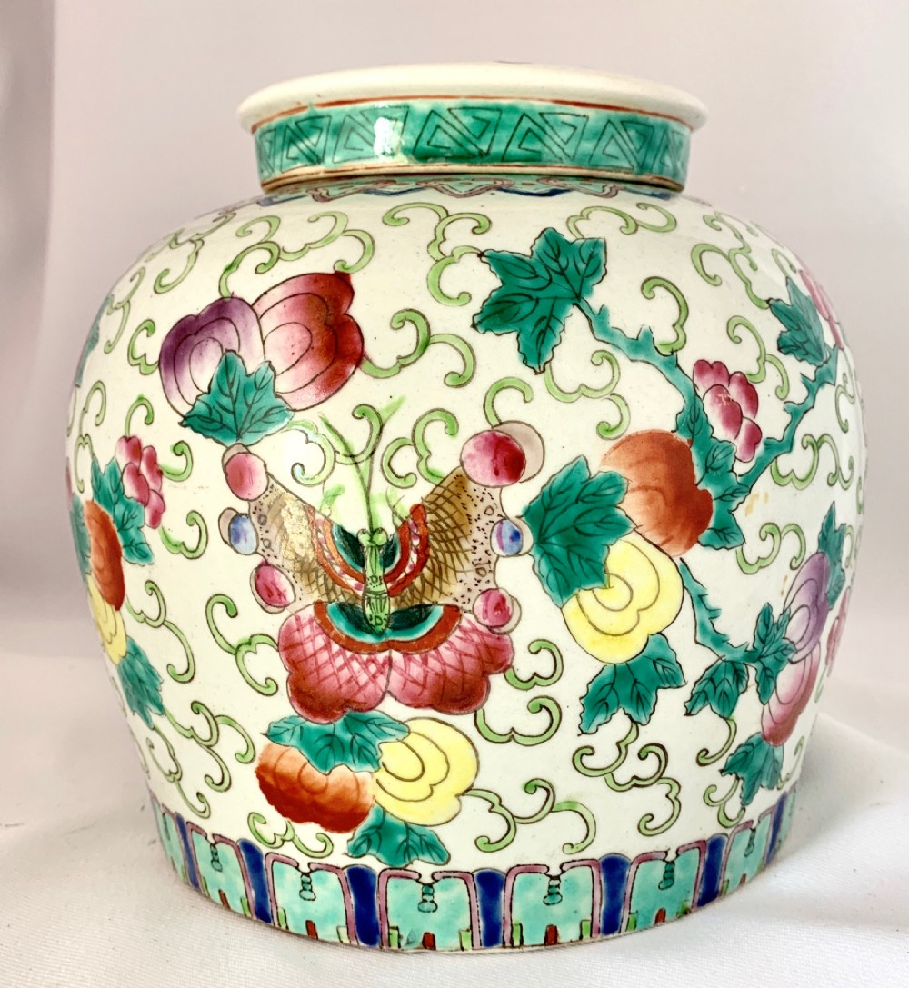 decorative chinese ginger jar cover