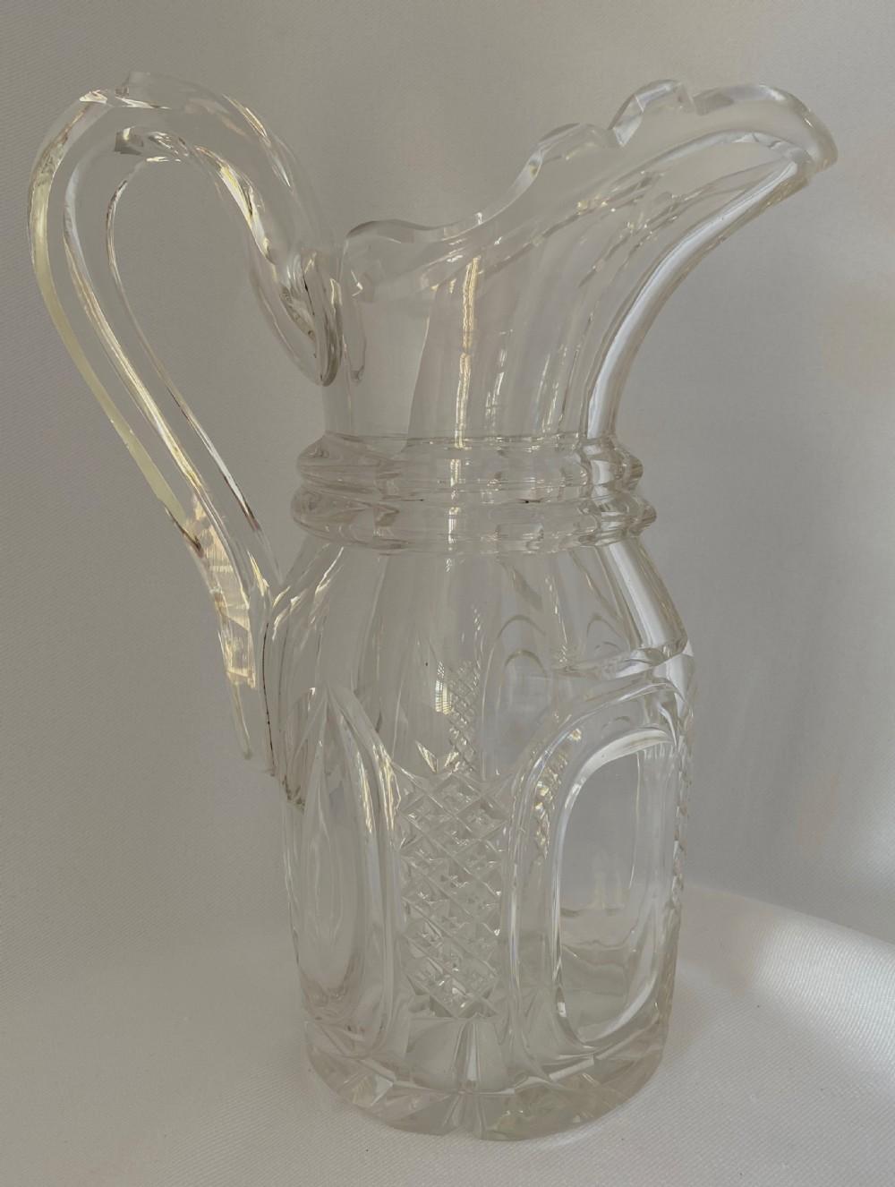 substantial victorian water jug