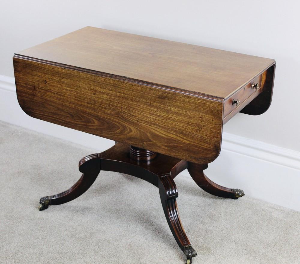 regency pembroke sofa table