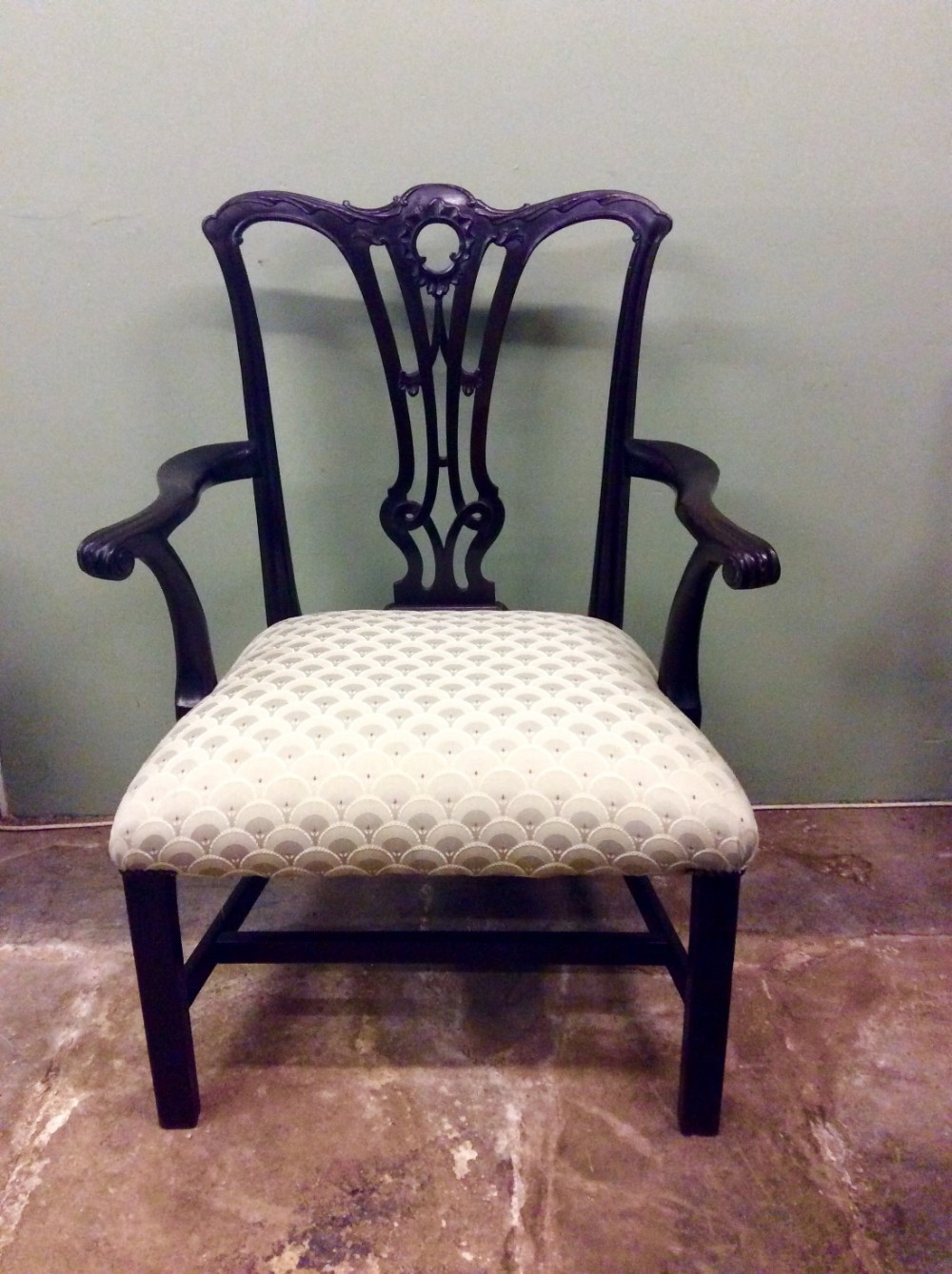 chippendale period chair