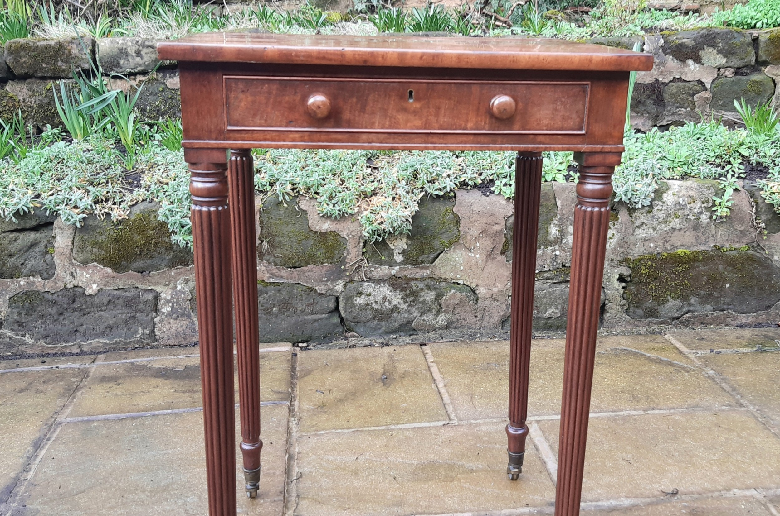 small georgian gillows side table
