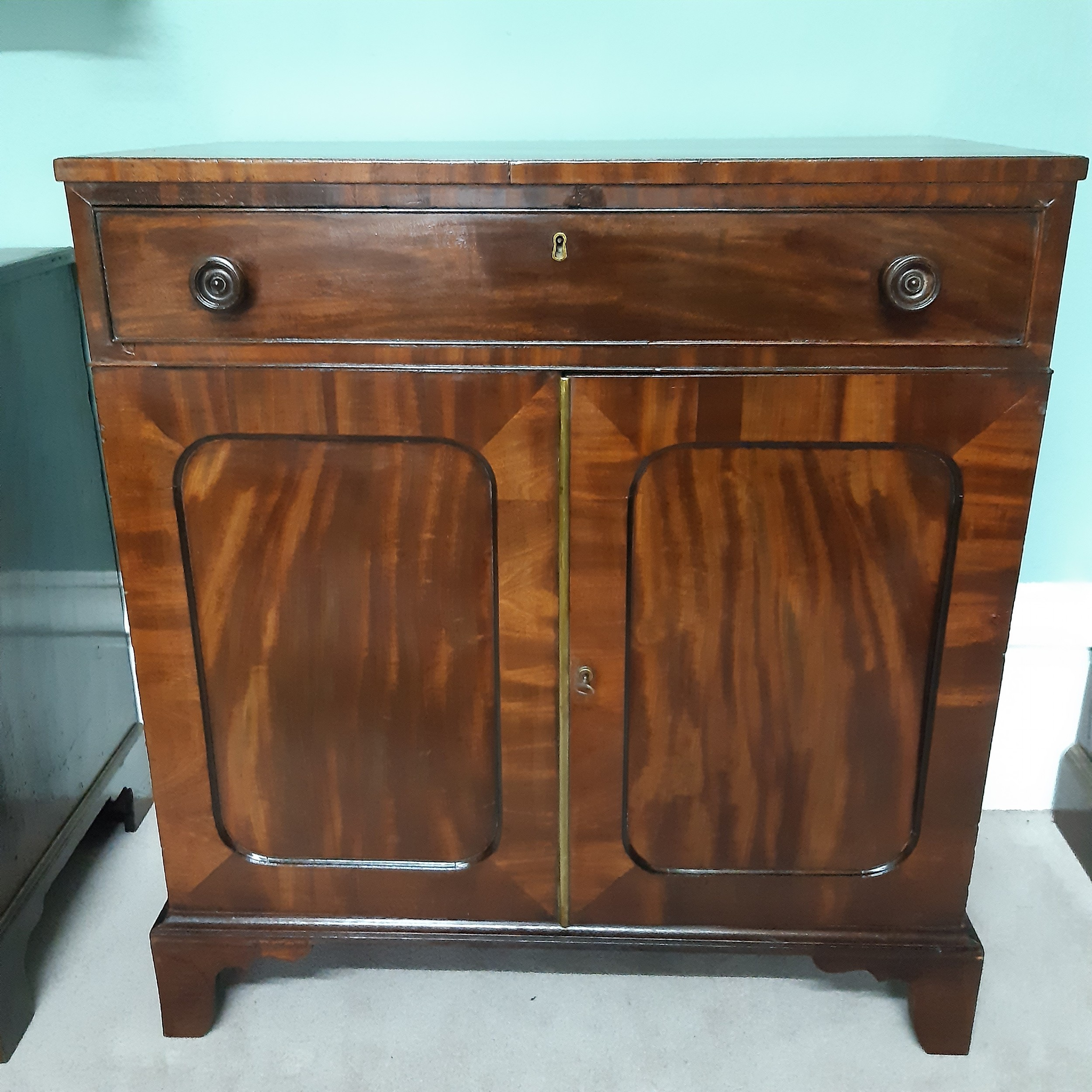 regency side cabinet chiffonier
