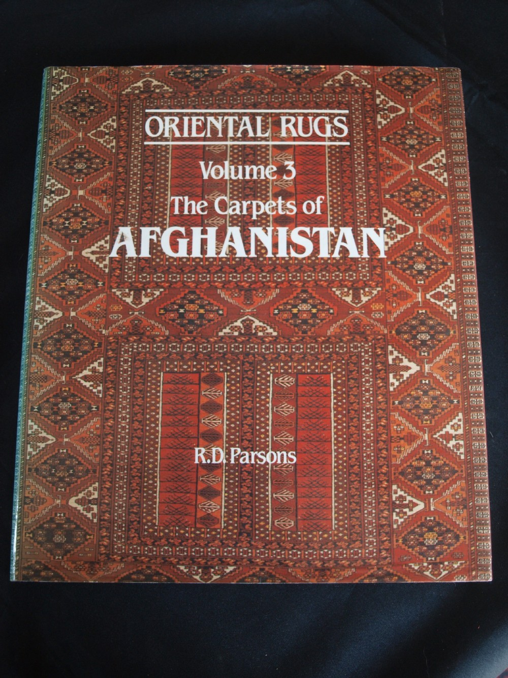 oriantal rugs volume 3 the carpets of afghanistan