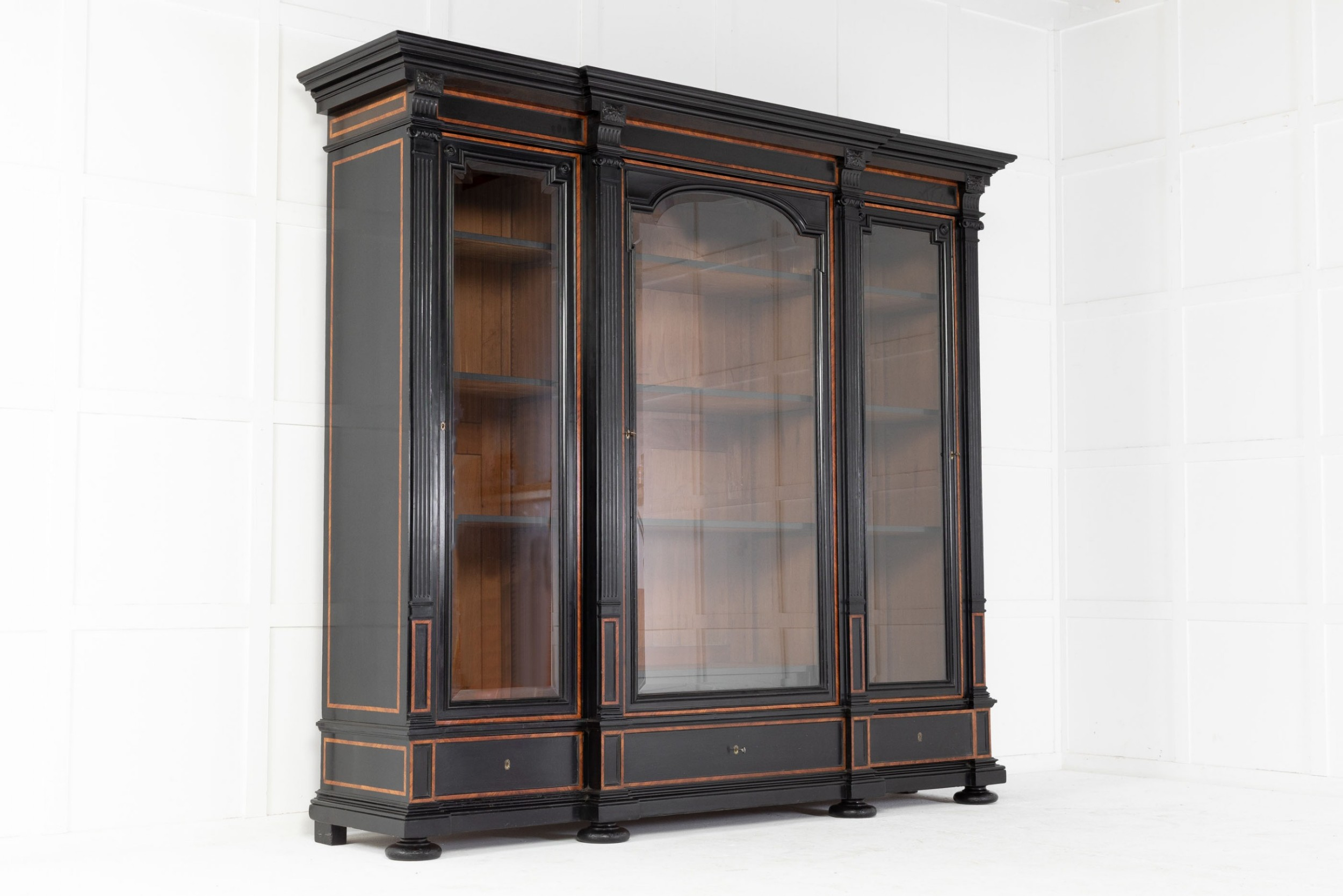 large 19th century french bookcase