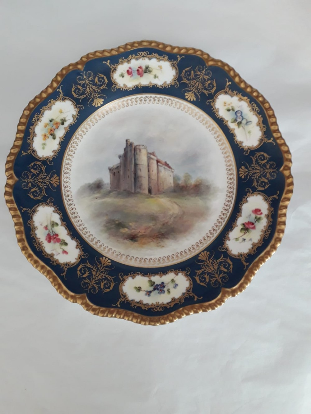 royal worcester cabinet plate