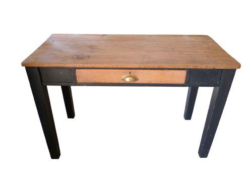 an unusual ebonised victorian side tabledesk