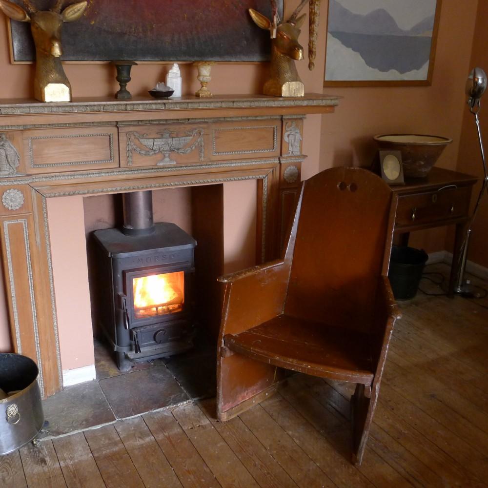 18th century irish provincial rocking chair