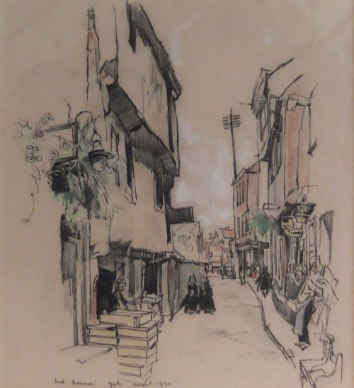 fred lawson york drawing dated 1931