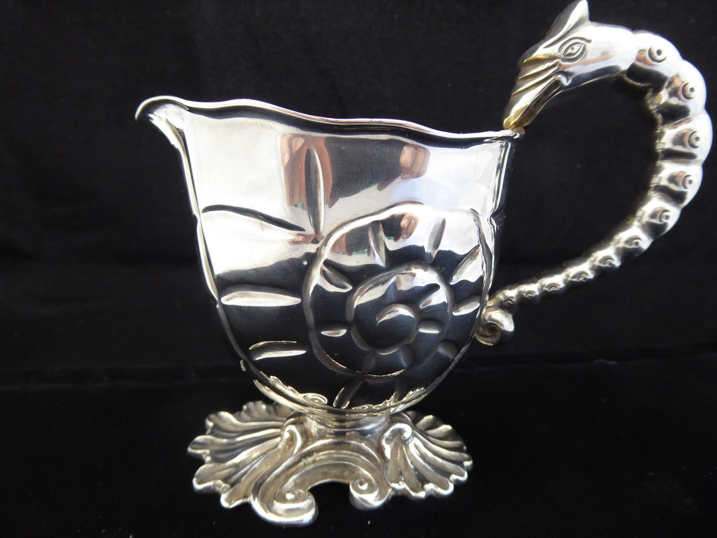 extremely rare victorian milk jug