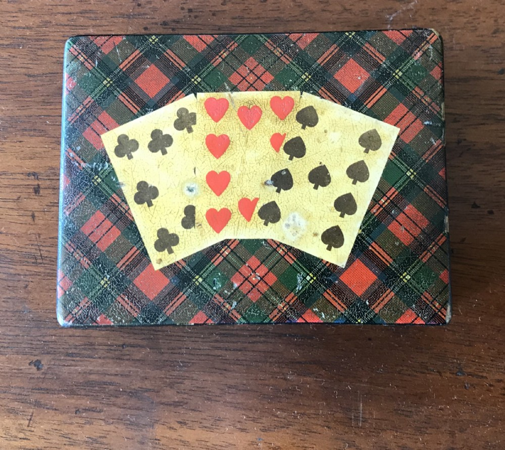 tartan ware card holder