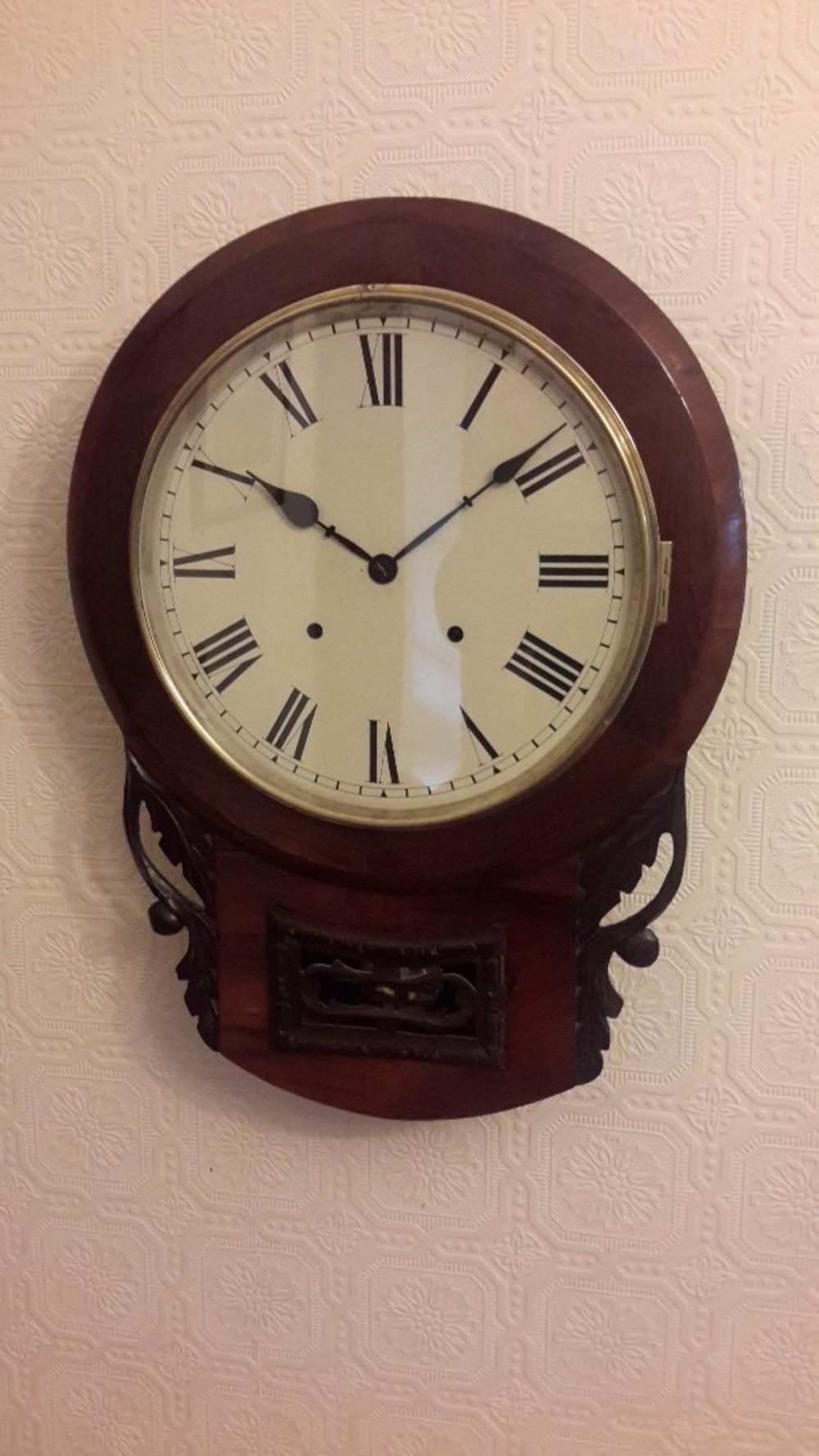 Drop Drop Dial Striking Wall Clock 459401