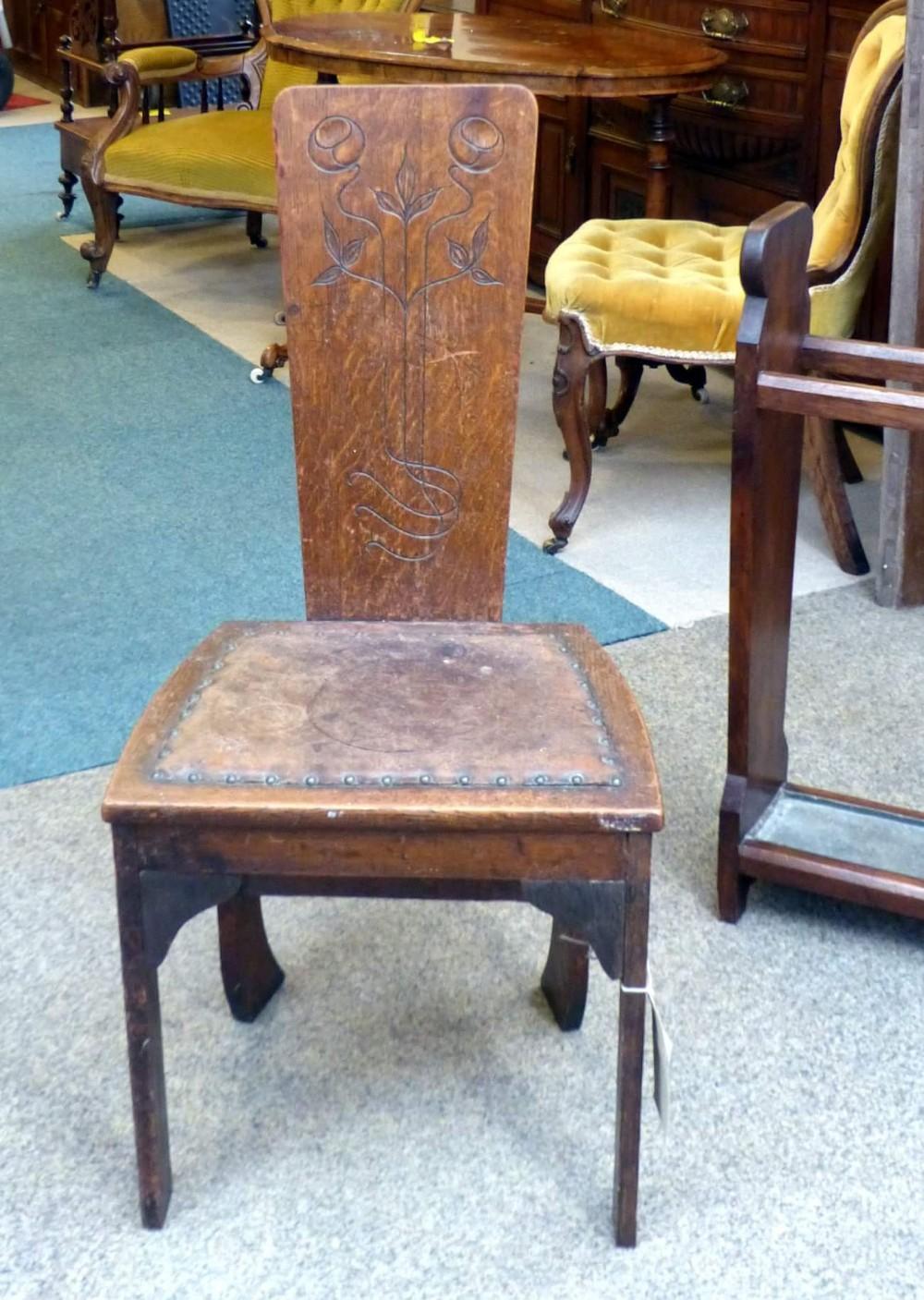 arts crafts chair