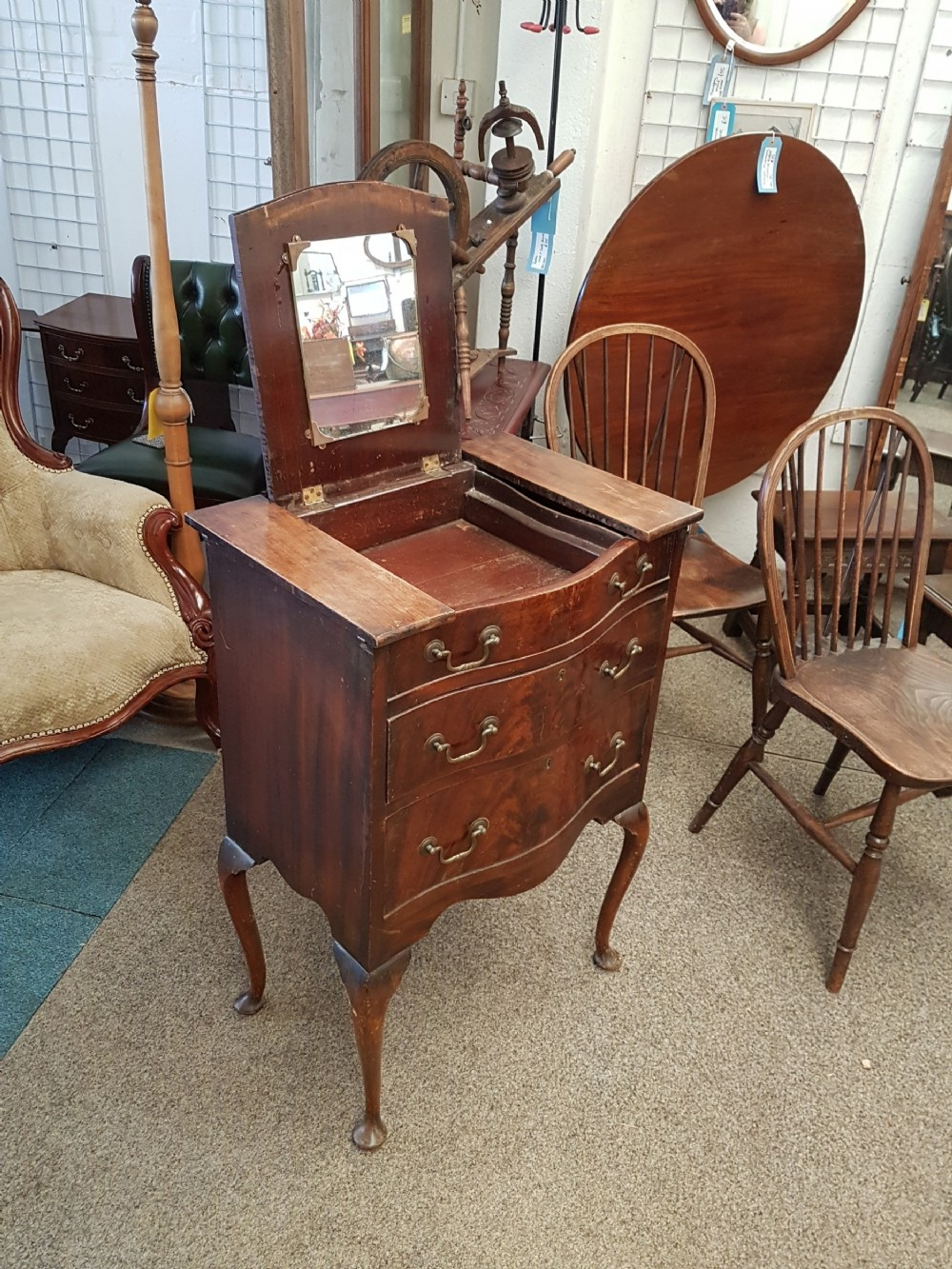 small dressing chest