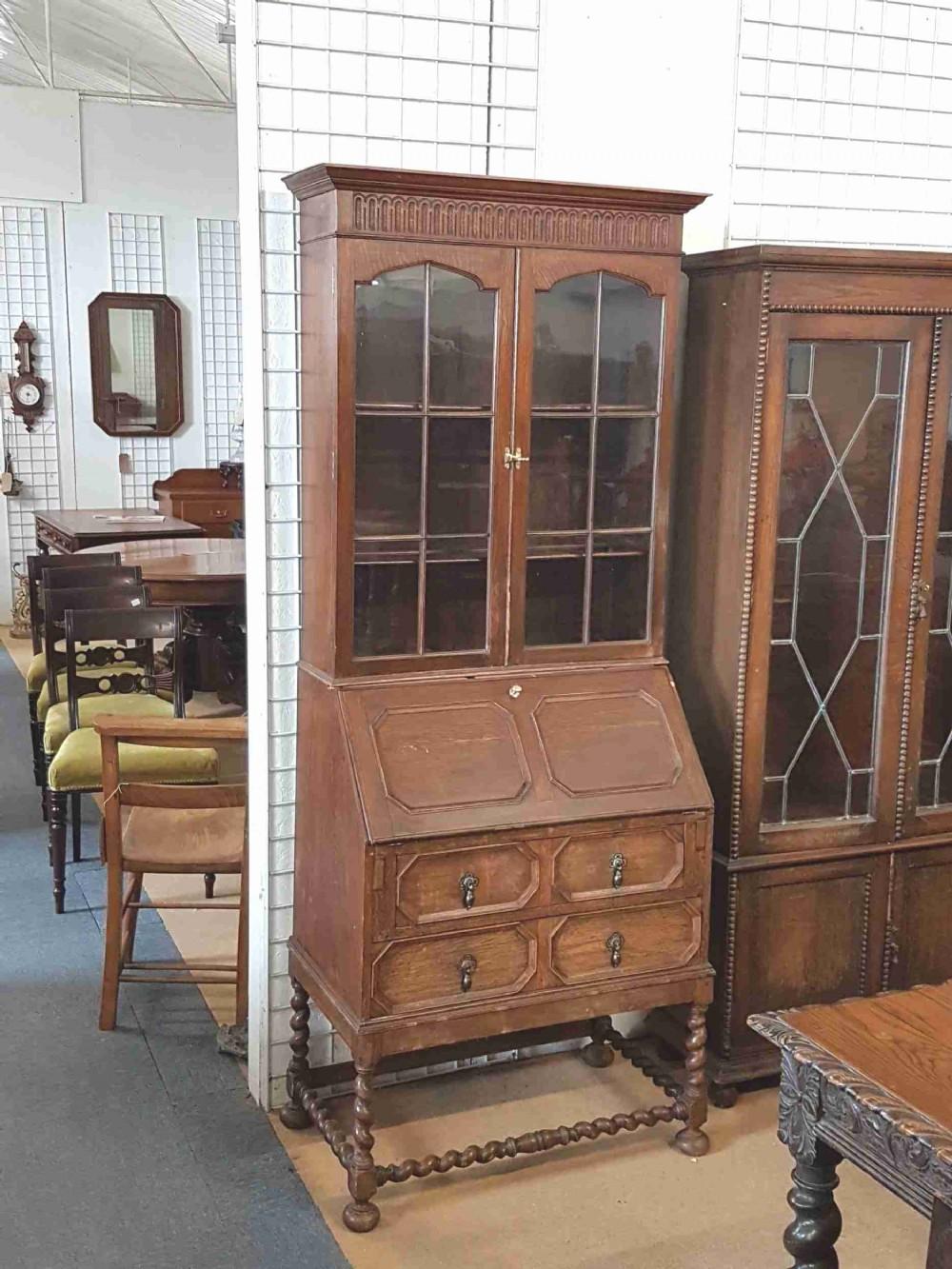 small bureau bookcase