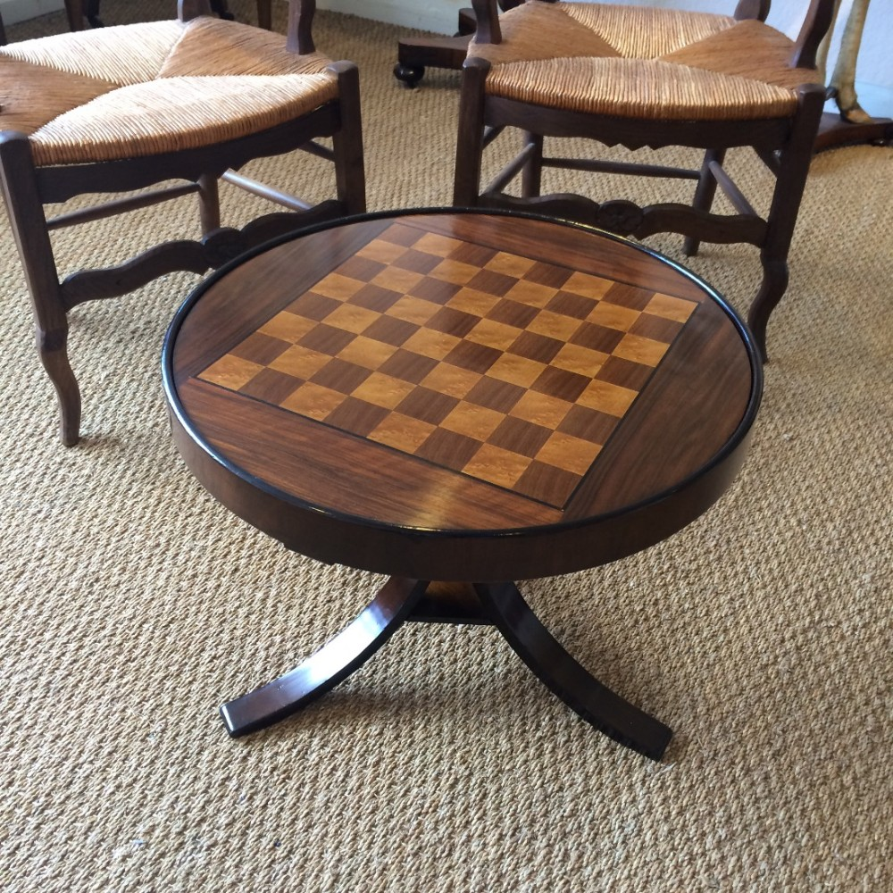 Incredible Art Deco Chess Coffee Table 415893 Sellingantiques Co Uk Ncnpc Chair Design For Home Ncnpcorg