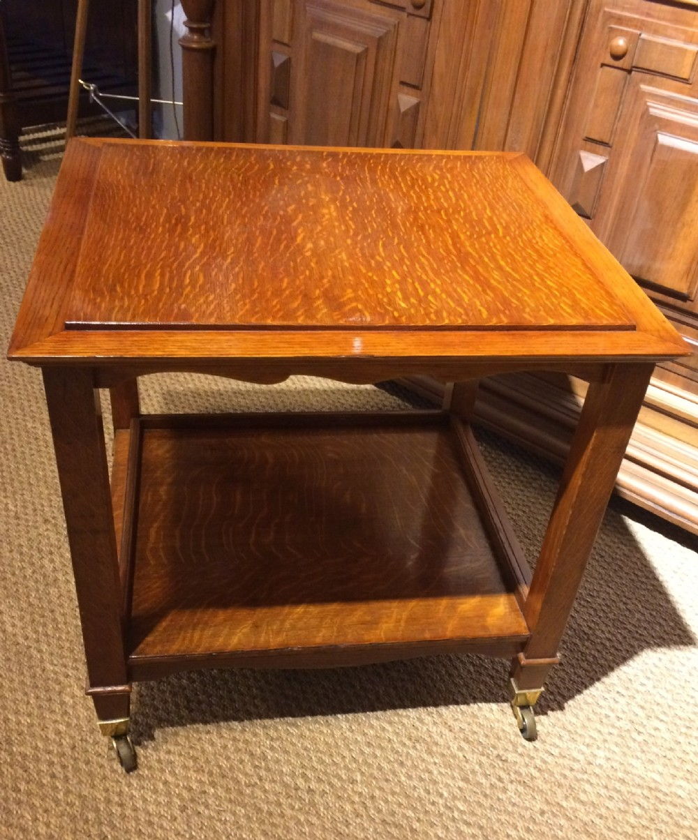 arts and crafts lamp table