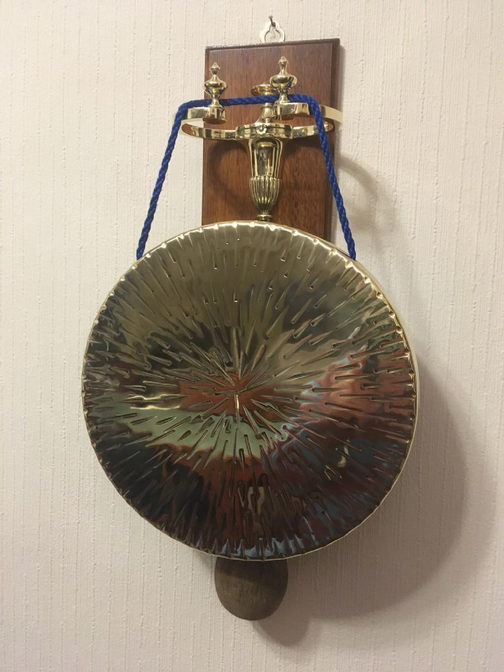 w tonks wall mounted gong